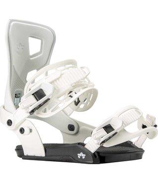 Rome Flare G1 Snowboard Bindings - White