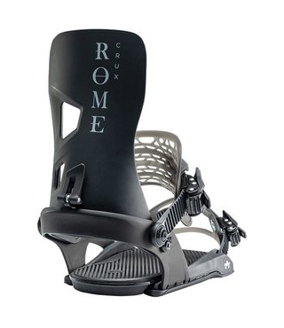 Rome Crux G1 Snowboard Bindings - Black
