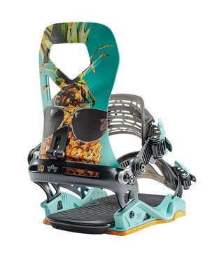 Rome Vice G3 Snowboard Bindings - Party Time