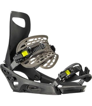 Rome Slice G1 Snowboard Bindings - Black