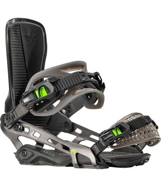 Rome Targa G1 Snowboard Bindings - Black