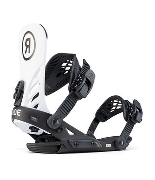 Ride Ex Men's Snowboard Bindings - White