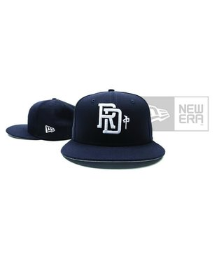 RDS New Era Hat Monogram - Nvy/Wht