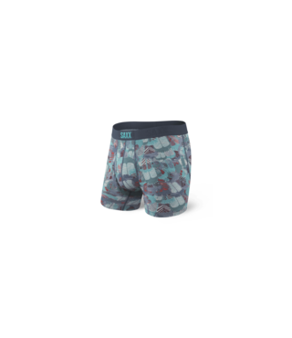 Saxx Ultra Boxer Brief w/ Fly - Blue Feathers