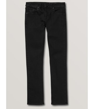 Volcom Big Boys 2x4 Skinny Fit Jeans - Black Out