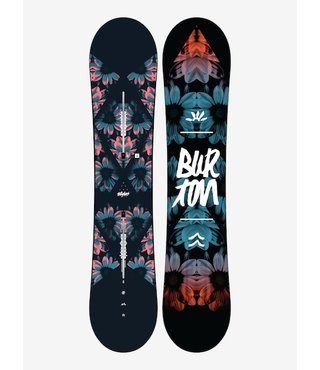 Women's Burton Stylus All Mountain Flat Top Snowboard