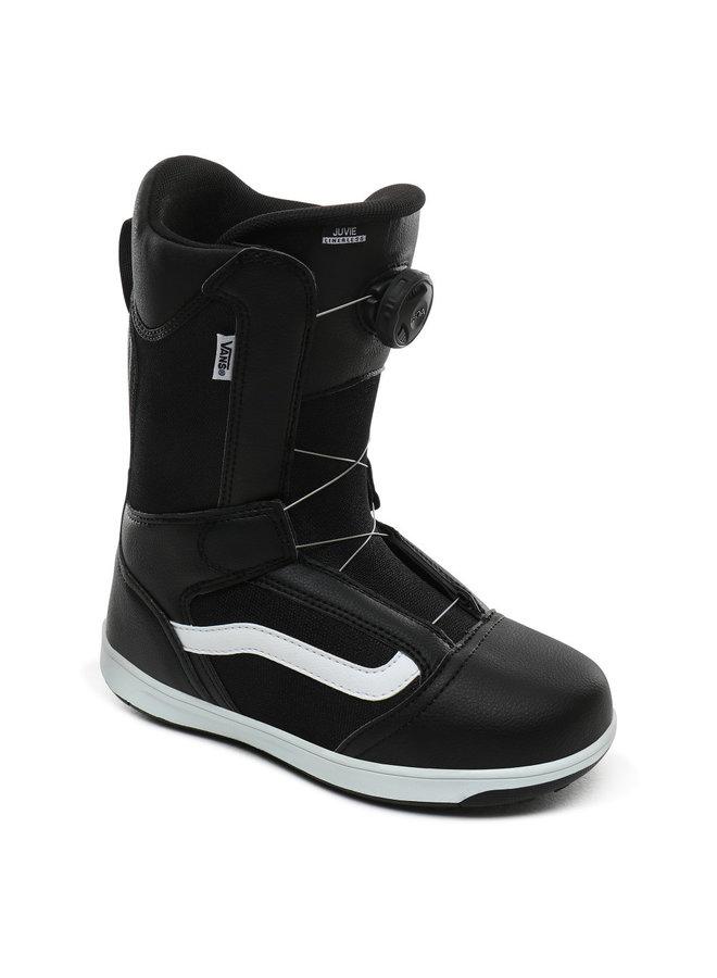 Vans Kid's Juvie Linerless Snowboard Boots - Blk/Wht