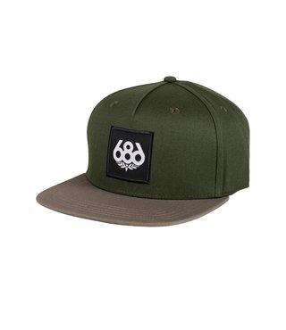 686 Knockout Snapback Hat - Surplus Green