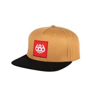 686 Knockout Snapback Hat - Khaki