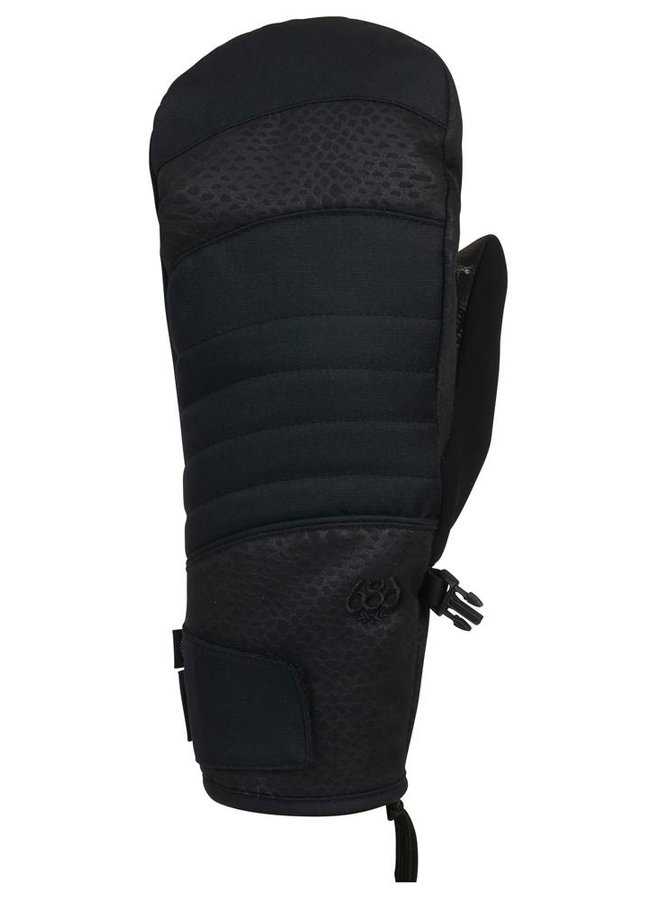 686 Women's Majesty Infiloft Mitts - Black Croc