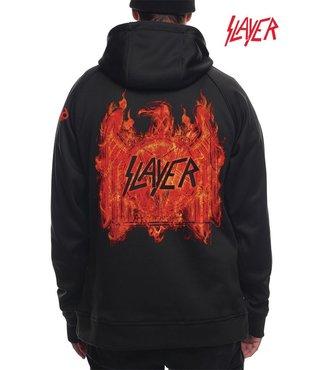 686 x Slayer Men's Bonded Fleece Pullover Hoody - Black