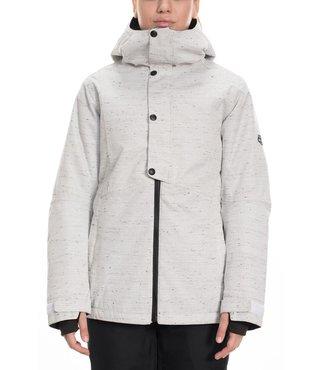 686 Women's Rumor Insulated Jacket - White Slub