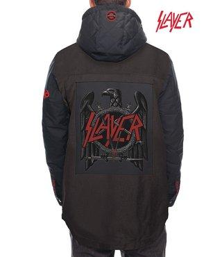 686 x Slayer Men's Insulated Jacket - Black Denim