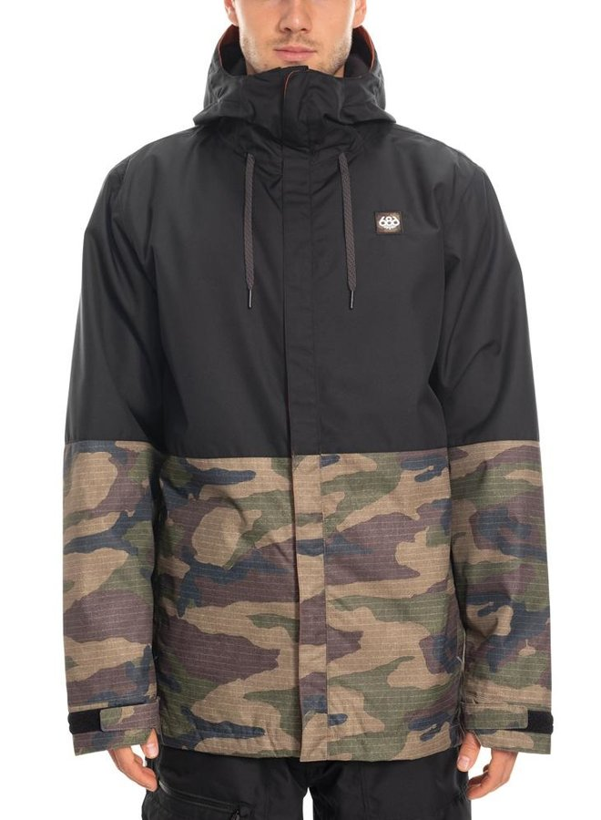 686 Men's Foundation Insulated Jacket - Dark Camo Clrblk