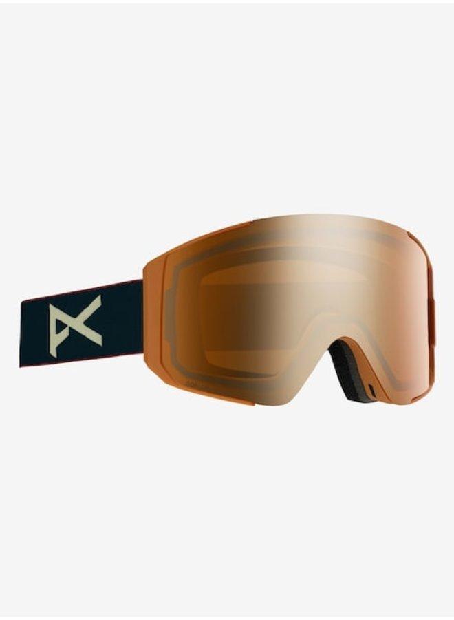 Men's Anon Sync Goggle Royal w/ Sonar Bronze Lens + Spare