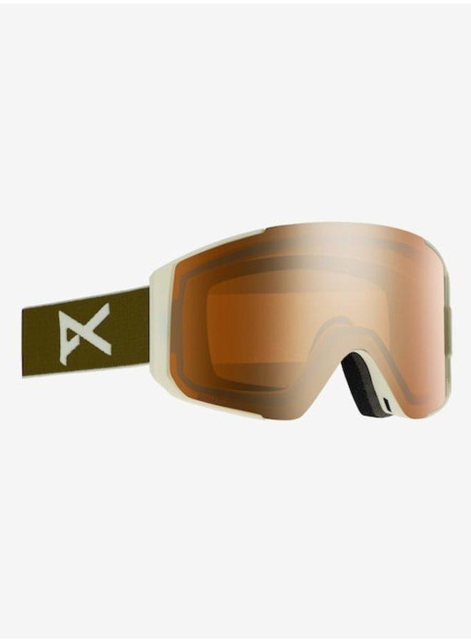 Men's Anon Sync Goggle Olive w/ Sonar Bronze Lens + Spare