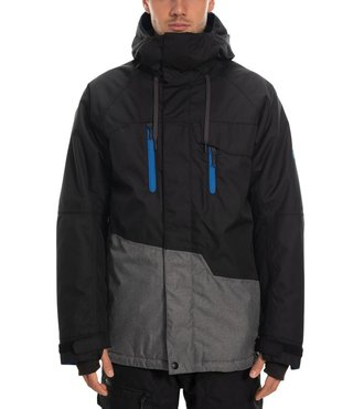 686 Men's Geo Insulated Jacket - Black Clrblk
