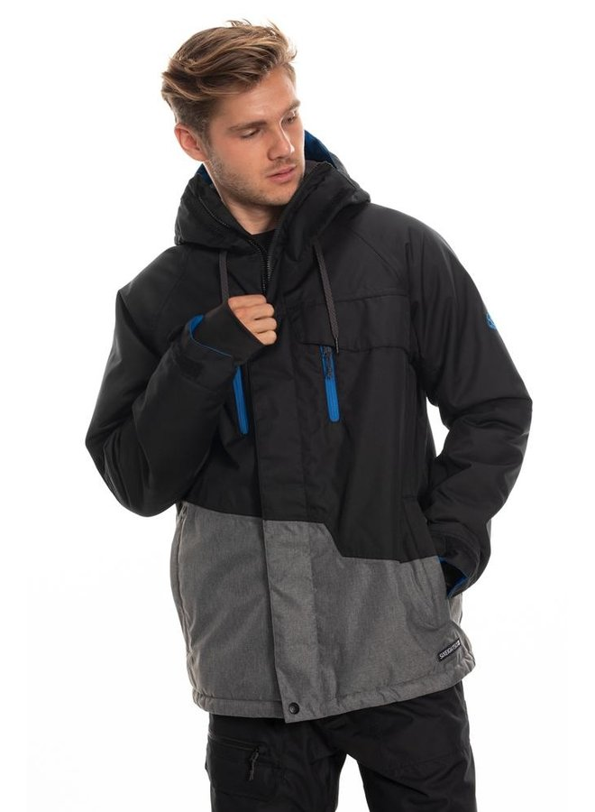 686 Men's Geo Insulated Jacket - Black Clrblk
