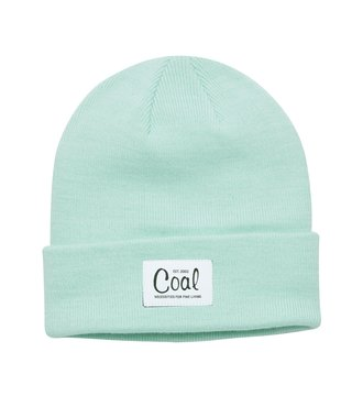 The Mel Recycled Polylana Knit Beanie - Mint