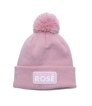 The Vice Pom Beanie - Pink (Rose)