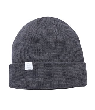 The FLT Classic Knit Beanie - Charcoal