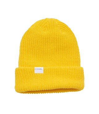 The Stanley Soft Knit Cuff Beanie - Yellow