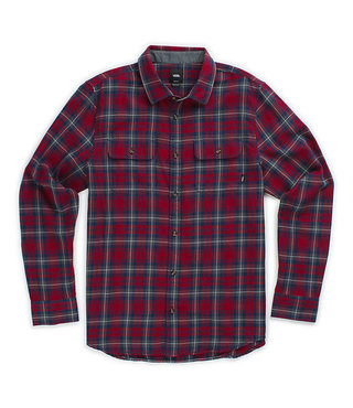 Vans Kids Sycamore Button Up Shirt - Biking Red