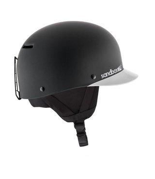 Classic 2.0 Snow Helmet - Black Team (Matte)
