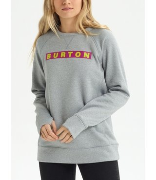 Women's Burton Oak Crew - Gray Heather