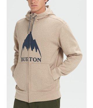 Men's Burton Oak Full-Zip Hoodie - Plaza Taupe Hthr