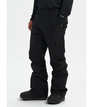 Men's Burton Cargo Snow Pant Relaxed Fit - True Black