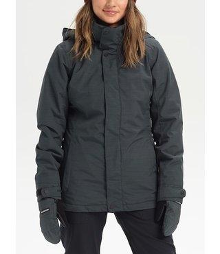 Women's Burton Jet Set Winter Jacket - True Blk Hthr