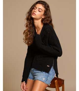 RVCA Drop Out Sweater - Black