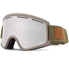 Von Zipper Cleaver S.I.N Snow Goggles Clay Satin w/ Wild Silver Chrome Lens