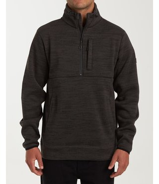 Billabong Boundary Mock Half Zip Pullover Fleece - Phantom