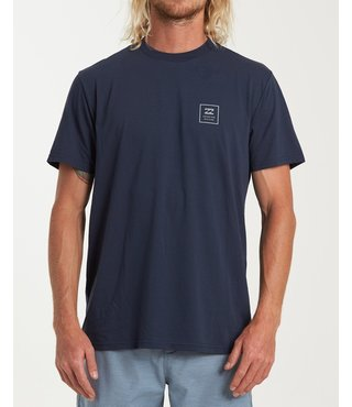 Billabong Stacked Short Sleeve T-Shirt - Navy