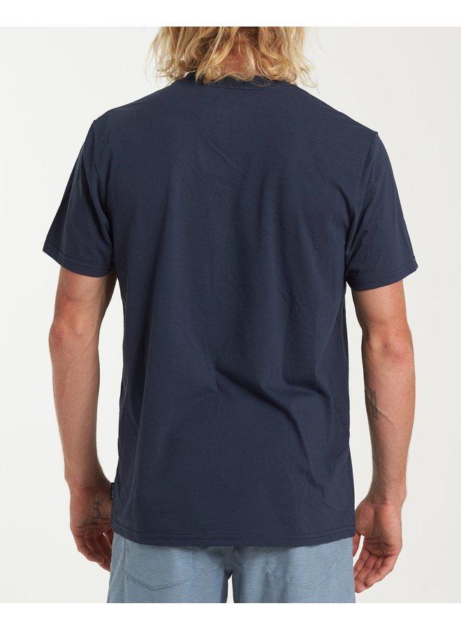 Billabong Stacked Short Sleeve T-Shirt - Navy