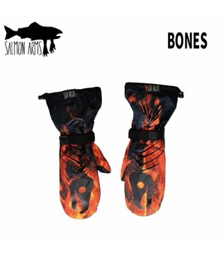 Salmon Arms Over Mitt - Bones