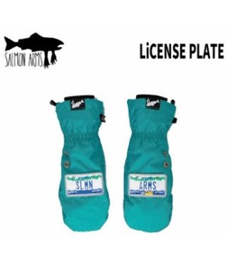 Salmon Arms Classic Mitt - Licence Plate