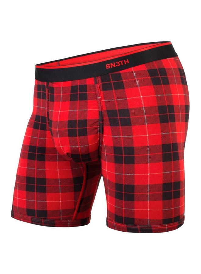 BN3TH Classic Boxer Brief - Fireside Plaid Red
