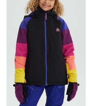 Girls' Burton Hart Jacket - True Blk Multi