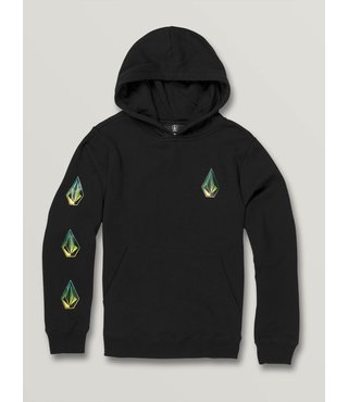 Volcom Big Boys Deadly Stones Pullover - Black