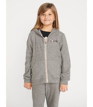 Big Girls Lived In Lounge Zip Fleece - Chrcl