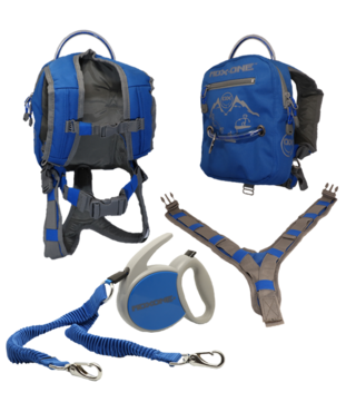 MDXONE OX Backpack and Leash - Blue