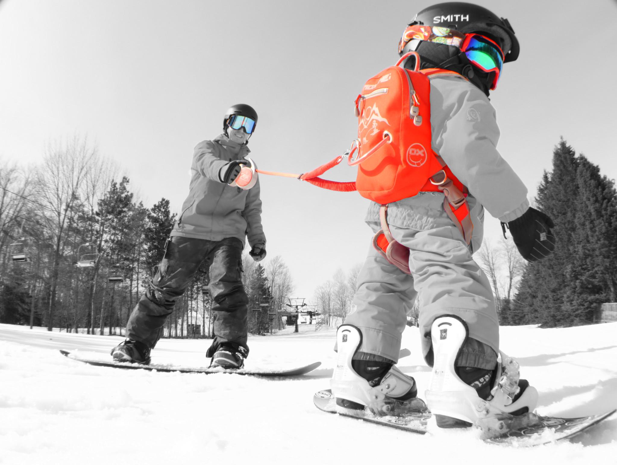 MDXONE Snowboard /& Ski Harness with retractable leash