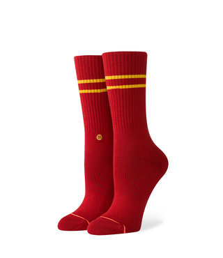 Stance Vitality Crew Socks - Dahlia Red