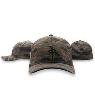 RDS OG Puffy Flexfit Hat - Dk Tiger Camo