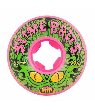 Slime Balls Freak Invader 99a Pink 53mm Wheels