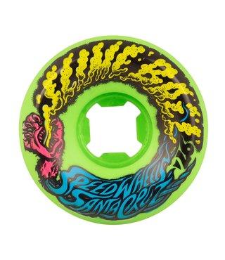 Slime Balls Vomit Mini 97a Neon Green 54mm Wheels