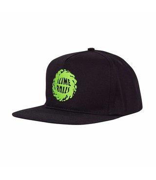 Santa Cruz Other Slime Balls Mid Profile Snapback - Blk